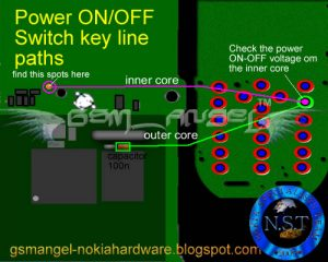 Nokia 1800 and 1616 power on off switch Jumper ways 300x240