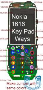 Nokia1616 KeyPad Ways 144x300