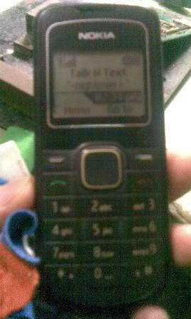 12023 - Nokia 1202 No Light New Solution