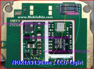 Nokia 5130xm lcd light solution 300x221