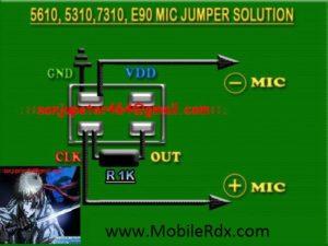Nokia 5610 252C5310 252C7310 252CE90 Mic Jumper Solution 300x225