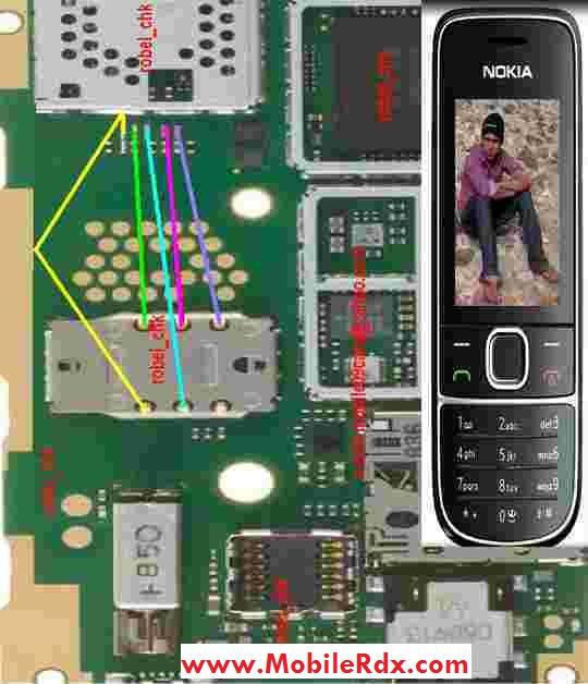 Samsung i9500 galaxy s4 sim card ic ways repair solution