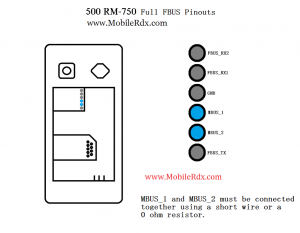 500 RM 750 FBUS 300x233 - Nokia 500 RM-750 Full FBUS Cable Pinout