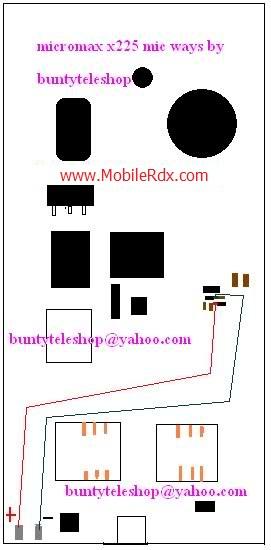 Micromax X225 mic ways