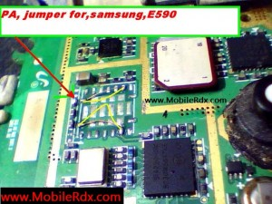 Samsung E590 Network Pa Jumper Solution 300x225