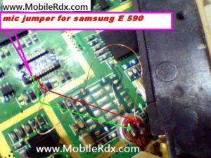 samsung e590 mic solution 300x225