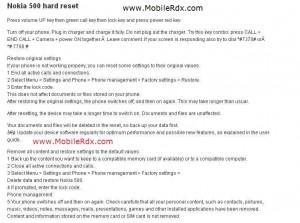 How To Hard Reset Nokia 500 PDA Smartphone 300x223