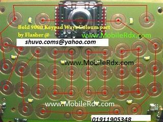 blacberry bold 9000 keypad ways