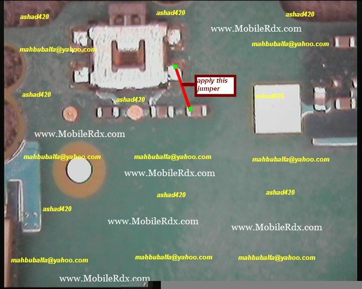Nokia E51 Power Switch Ways Jumper Solution Mobilerdx