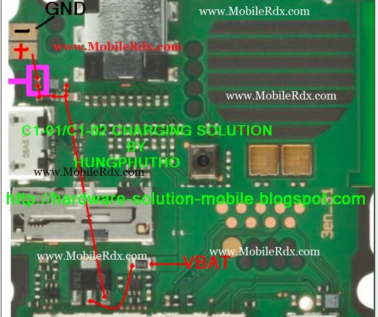 Nokia C1 01 C1 02 Not Charging Problem Solution Mobilerdx