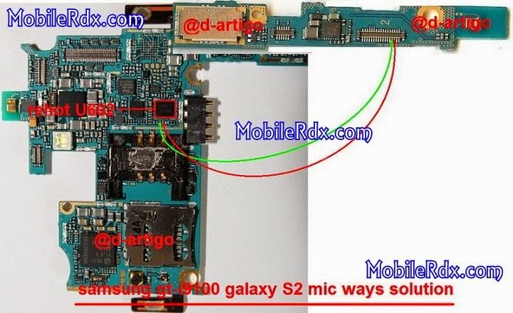 samsung gt i9100 mic not working ways