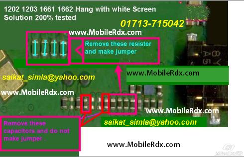 Nokia 1202 1203 1661 1662 Hang