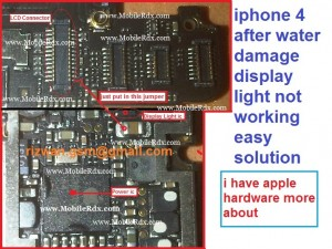 iphone4 display light not working easy solution 300x225