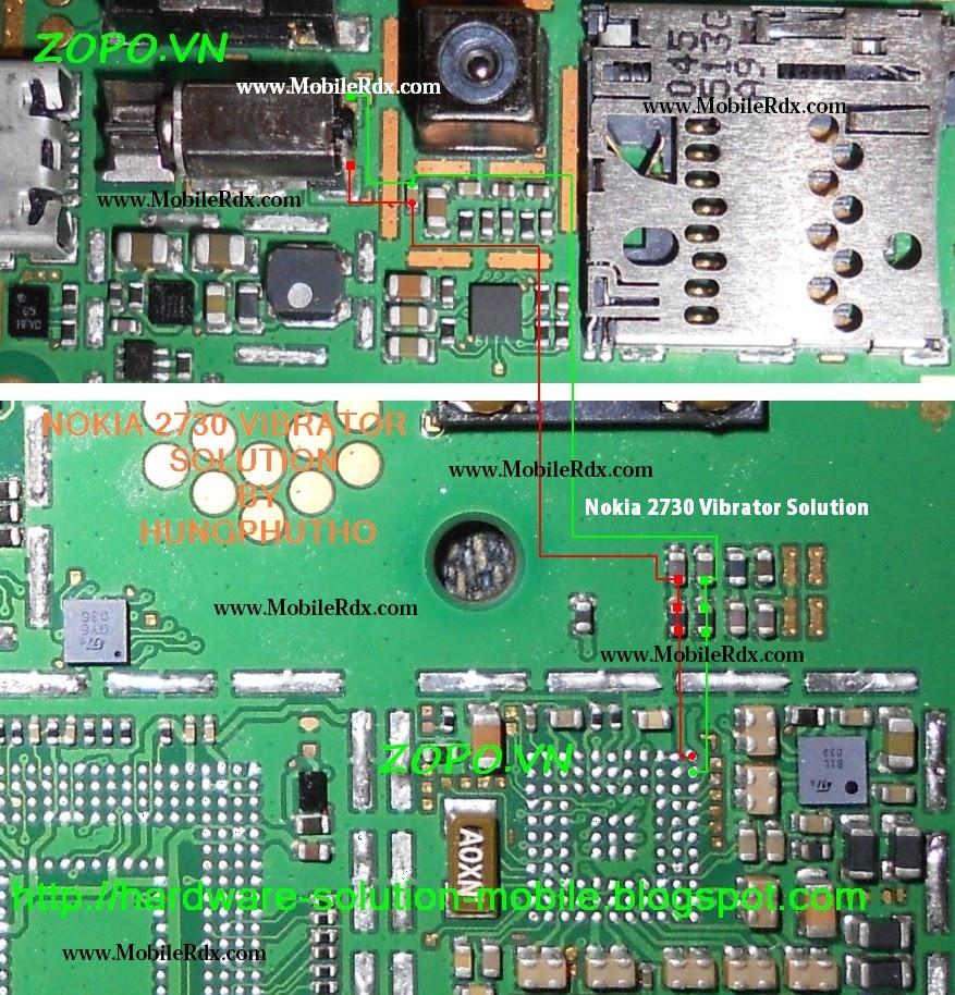 nokia 2730 vibrater solution
