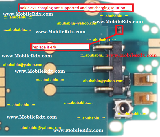 nokia e71 charging not supported and not charging solution - Nokia e71 Charging Not Supported And Not Charging Solution