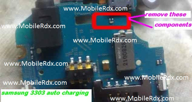 Samsung C3303 Always Shows Automatic Charging Solution