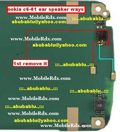 nokia c6 01 ear speaker solution