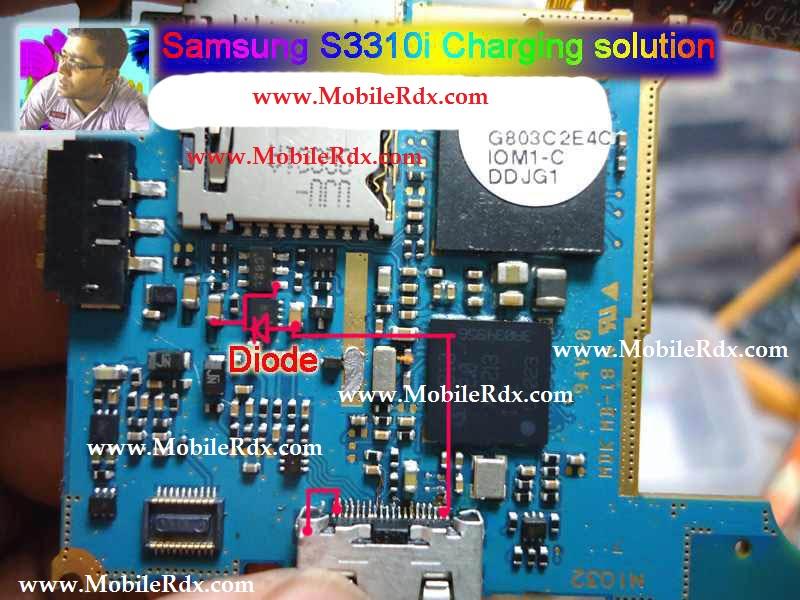 Samsung S3310i Charging Problem Solution