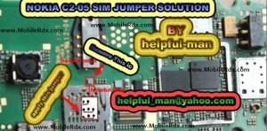 nokia c2 05 insert sim solution 300x148