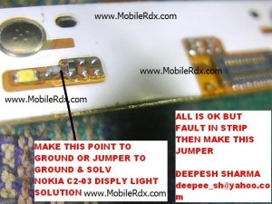 nokia c2 03 display light solution 300x225 - Nokia C2-03 Display/Lcd Light Not Working Solution