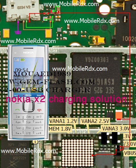 nokia x2 charging solution