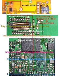 C2 03 C2 06 C2 08 Ear Speaker Ways Jumper Solution 239x300 - Nokia C2-03,C2-06,C2-08 Ear Speaker Jumper Solution