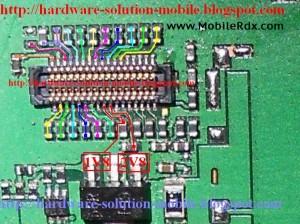 Nokia C2 03 C2 06 C2 08 Lcd Track Ways Jumper 300x224