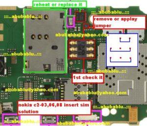 Nokia C2 03 C2 06 C2 08 Sim Ic Jumper 300x257
