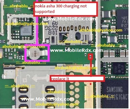 nokia asha 300 charging not supported solution