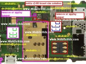 nokia c2 00 insert sim solution 300x222