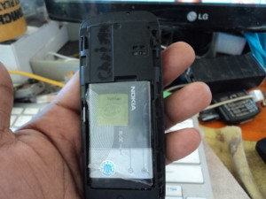 DSC02644 300x225 - Nokia 101 Water Damage And No Power Solution