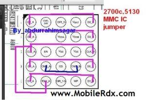 nookia 5130 2700c mmc ic jumper 300x207