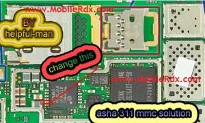 nokia asha 311 mmc solution 300x180