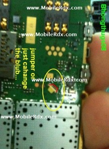 nokia x1 01 lcd light not working 219x300 - Nokia X1-01 Display Light Problem Repair Solution
