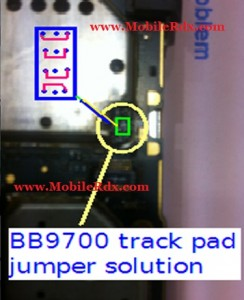 9700 trackpad ic jumper 244x300 - Blackberry 9700 Keypad Not Working Problem Full Solution
