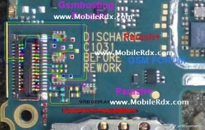 Blackberry 9700 White Display, Blackberry 9700 Lcd Display Ways Jumper