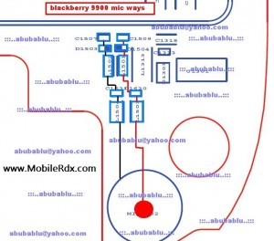 Blackberry 9900 Mic Track Ways Jumper Solution