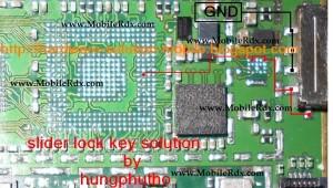 Nokia 5800 Slider Key Track Ways Jumper