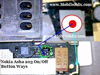 nokia asha 203 power button ways jumper