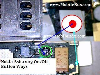 nokia asha 203 power button ways jumper - Asha 203 On/Off Button Ways Jumper Solution