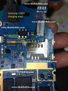 Samsung C3303 Charging Ways Jumper, Samsung C3303 Usb Ways