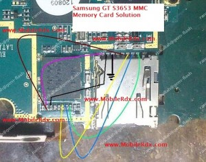 samsung s3653 mmc memory card track ways jumper 300x236 - Samsung GT S3653 MMC Memory Card Problem Ways Jumper