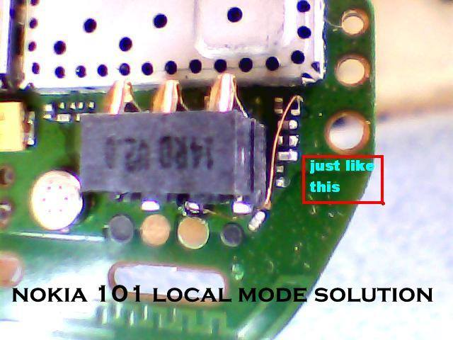 Nokia 110 Local test Mode Problem Solution
