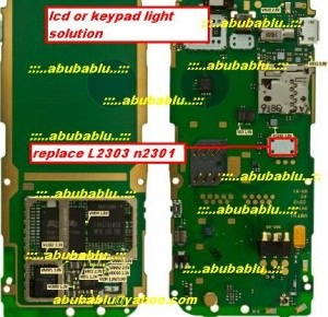 Nokia 2710 lcd and keypad light solution 300x290 - Nokia 2710 Display Lcd Light Probelm Solution Jumper