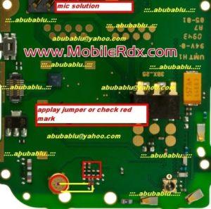 Nokia 2710 Mic Problem Jumper Solution