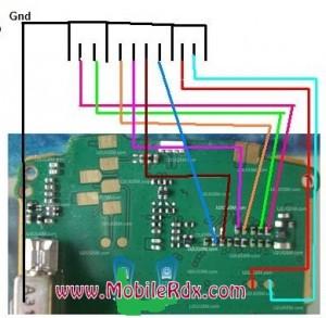 Nokia x1 01 Lcd Light Problem Solution Ways Jumper 300x293 - Nokia X1-01 Not Power On Dead Problem Solution