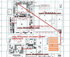 Nokia x3-00 Mmc Memory Card Problem Jumper Solution