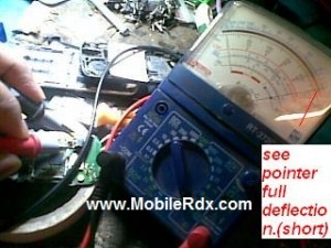 c101shorted 1 300x225 - C1-01 Nokia Full Shorted No Power Repair By Remove Capacitor
