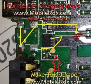 Fome C1+ Charging Ways Jumper Solution
