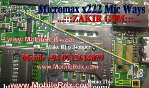Micromaxx X222 Mic Ways Track Jumper Solution